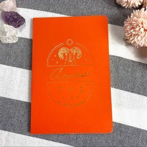 3 for $20🦄 Anthropologie Orange Aries Journal